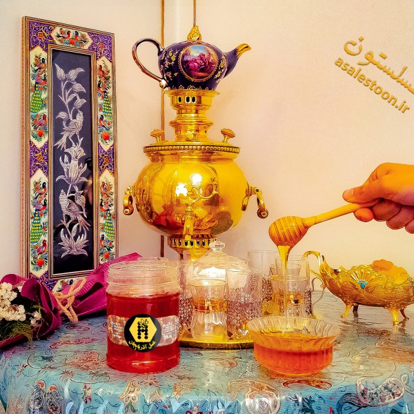 عسل طبیعی آویشن حاج احمد