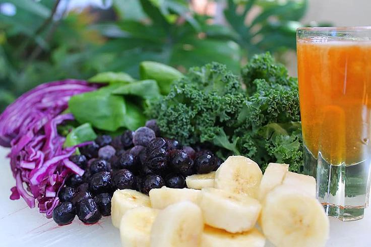 عسل طبیعی و سبزیجات - درمان کم خونی