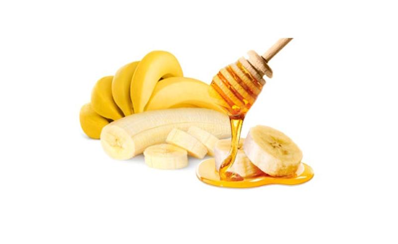 عسل طبیعی و موز -- درمان کم خونی