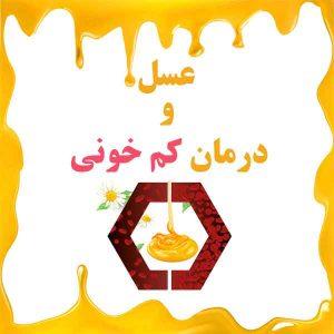 عسل و درمان کم خونی