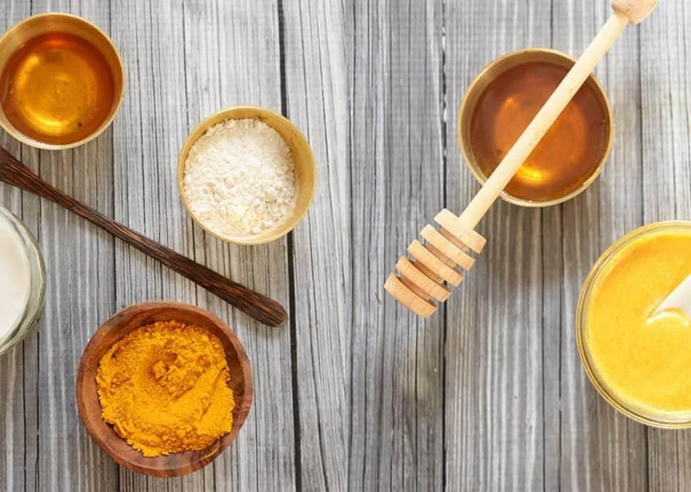 ترکیب عسل با زنجبیل و زردچوبه